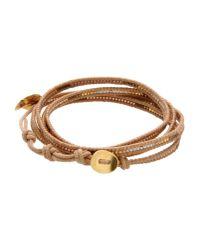Chan Luu | Metallic Bracelet | Lyst