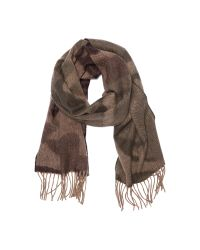 Begg & Co   Brown Camo Scarf for Men   Lyst