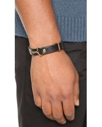 Giles & Brother - Black Narrow Visor Cuff for Men - Lyst