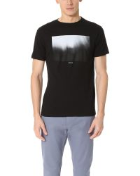 RVCA - Black Solitude Tee for Men - Lyst
