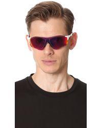 Oakley - Pink Evzero Prizm Road Sunglasses for Men - Lyst
