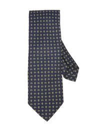 Drake's - Blue Mini Paisley Tie for Men - Lyst