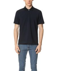 French Trotters - Blue Lucien Wool Polo for Men - Lyst
