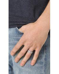 Miansai - Metallic Moore Mesh Ring for Men - Lyst
