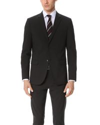 Theory   Gray Wellar Suit Jacket for Men   Lyst