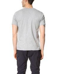 White Mountaineering - Gray [white Box Logo] Printed Tee for Men - Lyst