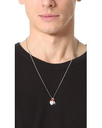 Paul Smith - Multicolor Charm Necklace for Men - Lyst