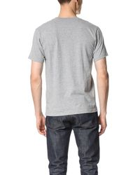 White Mountaineering - Gray [white 3d] Printed Tee for Men - Lyst