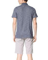 Calvin Klein Jeans - Natural Slub Pique Polo for Men - Lyst
