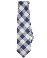 The Hill-side - Blue Buffalo Check Tie for Men - Lyst