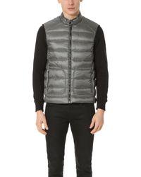 Belstaff | Gray Harbury Vest for Men | Lyst