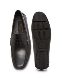 To Boot - Black Harper Leather Drivers for Men - Lyst