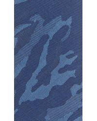 Thomas Mason - Blue 7cm Camo Tie for Men - Lyst