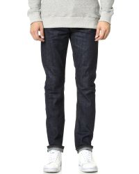 Baldwin Denim   Blue Henley Dry Classic Slim Jeans for Men   Lyst
