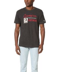 Todd Snyder - Black Champion Processed Sportswear Tee for Men - Lyst