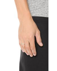 Le Gramme - Metallic Le 3 Grammes Brushed Silver Ring for Men - Lyst
