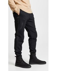 a821a97f165e1b Lyst - DIESEL Pants With Vertical Pocket in Black for Men