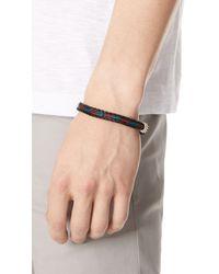 Chamula - Brown Hh Braided Bracelet for Men - Lyst