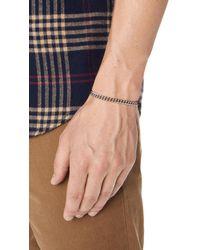 Scosha - Black Signature Chain Bracelet for Men - Lyst