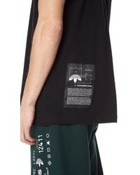 Alexander Wang - Black Aw Graphic Tee for Men - Lyst