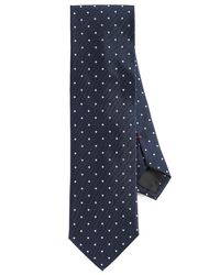 HUGO - Blue Dots Tie for Men - Lyst