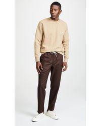 Maison Kitsuné - Natural Fox Head Sweatshirt for Men - Lyst