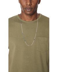 Scosha - Multicolor Mix Chain Necklace for Men - Lyst