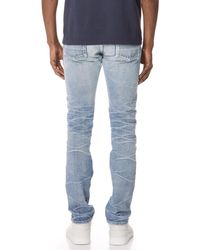 Fabric-Brand & Co. - Blue Ezra Selvedge Slim Fit Jeans for Men - Lyst