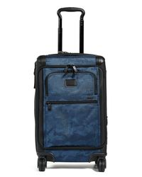 Tumi - Blue Alpha International Front Lid Carry On Suitcase for Men - Lyst