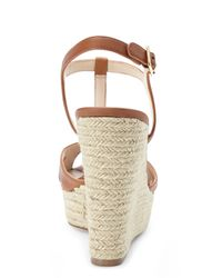 Vince Camuto - Natural Inslo 2 Wedge Sandals - Lyst