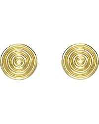 Theo Fennell | Metallic Whip 18ct Yellow-gold Stud Earrings | Lyst