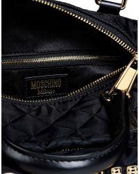Moschino | Black Medium Fabric Bag | Lyst