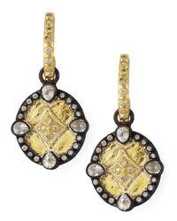 Armenta - Multicolor Shield Drop Earrings - Lyst