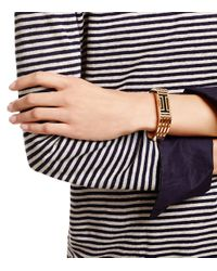 Tory Burch - Pink For Fitbit Metal Hinged Bracelet - Lyst