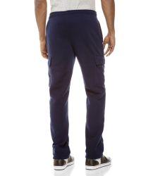 U.S. POLO ASSN. - Blue Cargo Fleece Sweatpants for Men - Lyst