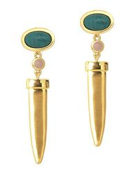 Rose Pierre | Metallic Le Midi Drop Earrings | Lyst