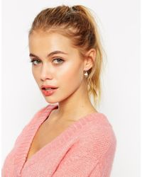 ASOS | Metallic Cupcake Swing Earrings | Lyst