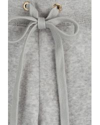 Juicy Couture | Gray Logo Velour Lounge Pants - Grey | Lyst