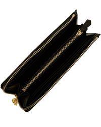 Alexander McQueen - Black Continental Half Zip Wallet - Lyst