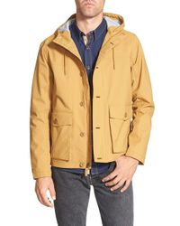 Timberland | Yellow 'mt. Clay' Waterproof Hooded Jacket for Men | Lyst