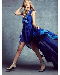 Free People - Blue Goddess In Rome Dress - Lyst