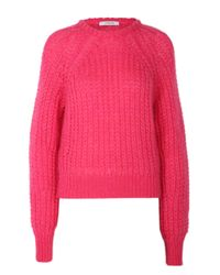 Dorothee Schumacher | Pink Her Story Pullover O-neck 1/1 | Lyst