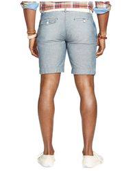 Polo Ralph Lauren | Blue Big And Tall Chambray Watch Hill Shorts for Men | Lyst