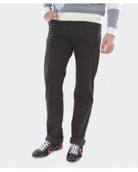 Armani Jeans - Black J31 Regular Fit Gabardine Jeans for Men - Lyst