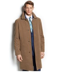 London Fog | Natural Coat Durham Raincoat for Men | Lyst