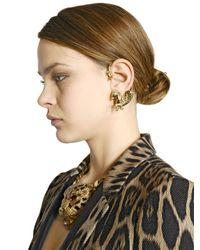 Roberto Cavalli - Metallic Arion Gold Plated Mono Ear Cuff - Lyst