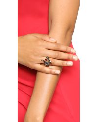 Erickson Beamon | Multicolor Hyperdrive Spiral Ring | Lyst