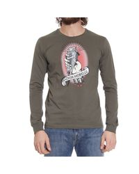Frankie Morello | Brown T-shirt for Men | Lyst