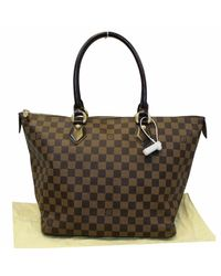 Louis Vuitton Brown Saleya Mm Damier Ebene Shoulder Bag