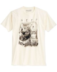 Neff | Natural Up North Graphic-print Logo T-shirt for Men | Lyst